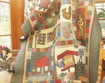 """Patchwork & Quilting  """"Favorite Quilts""""  Book"""