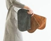 Brown Leather purse , leather crossbody bag, Wristlet wallet, leather shoulder bag, leather handbag, handmade leather purse, leather wallet