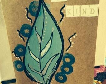 BeKind note card