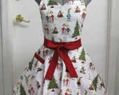 Ready to Ship - How the Grinch Stole Christmas Whoville Apron
