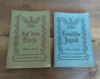Vintage German Readers by Erika Meyer