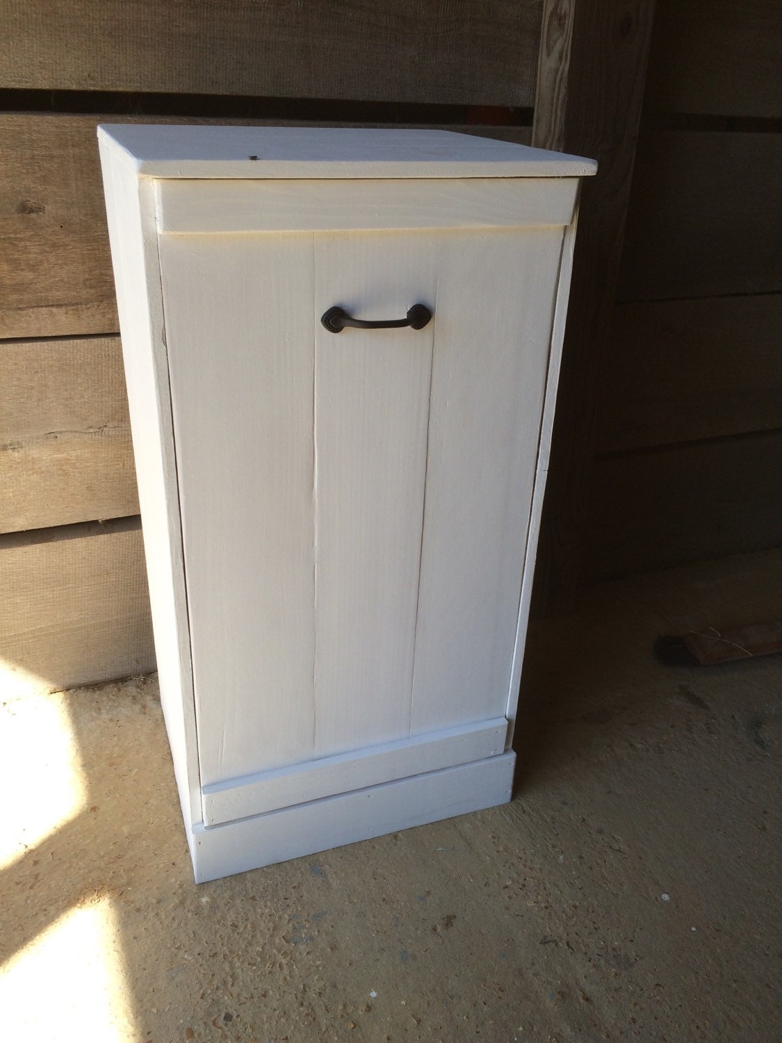 tilt out trash bin tilt out hamper wood trash can kitchen