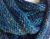Hand Knit Pashmina Infinity Scarf Cowl