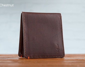 The Classic Journeyman Leather Wallet - Chestnut