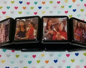 Gilmore Girls inspired bracelet stars hollow stocking stuffer