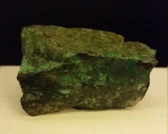 Raw Malachite Azurite Power Stone, Rockhound, Natural, One of a Kind, Healing