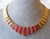 7 pc Gold MONET Lot Necklaces