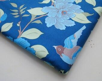 Bird Fabric, Wooster and Prince Good Life Collection Organic Cotton Fabric, Half Yard, Robert Kaufman, OOP