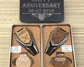 Personalized Golf Ball Marker & Divot Tool, Anniversary Gift for Men, Dad Gift,Man Gift, Husband Gift, Golf gifts for men, golf gift for man