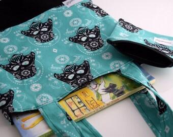 Back to School Supplies, Children's Tote Bag, Preschooler Tote Bag, Handmade, Zookaboo, CUSTOM MADE
