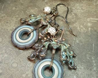 Adaline - Art Earrings