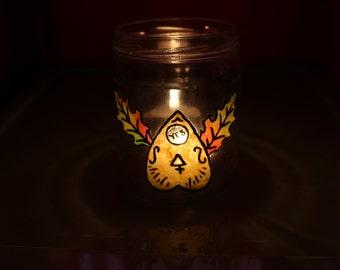 Ouija Candle Luminary
