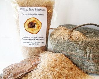 Cedar & Sage - Dead Sea Salts