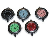 Colored Watch Face (1) for Beading Jewelry Finding Supply Circle Round