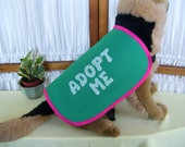 CLEARANCE Dog Adopt Me Vest LARGE