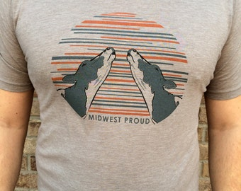 Midwest Proud - unisex cow shirt