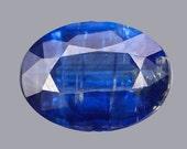 KYANITE (24068)  8 x 6mm Blue Kyanite - Nepal Mined - Faceted
