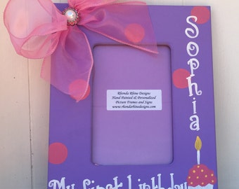 4x6 My first birthday frame