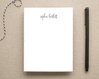 Personalized Notepad with Name / Small Notepad with Script Name / Personal Note Pad / Custom Notepad