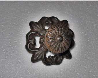 On Sale Drawer Knob / Dresser Knobs / Cabinet Knobs/ Cast Iron Knobs / Cottage style / Decorative Knob