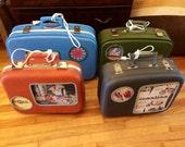 4 lampes-valises pour Jessica!