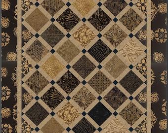 On Point Minis Quilt ePattern, 4929-1, wall quilt pattern, lap quilt, man quilt, nickel quilt