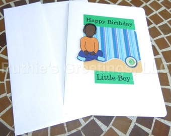 Little Boy Birthday - Birthday Card for Son