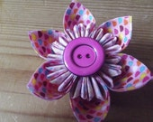 Goody Goody Gumdrops! Pink Handmade Fabric Hair Accessory