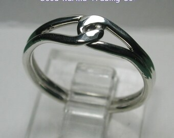Sterling Silver Friendship Ring.