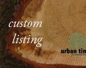 Custom Listing for Halle