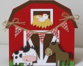 Custom order - Farm Birthday Invitations - set of 15