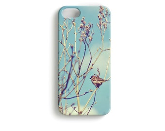 Spring Birdie - phone Case Bird Photography Nature Tree Sky Clouds
