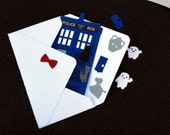 Doctor Who T.A.R.D.I.S Greeting Card