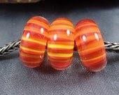 BHB, Big Hole Bead fits European Bracelets, with of without silver 925 core