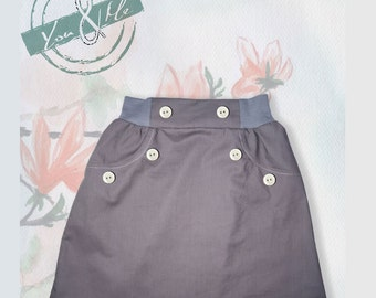You&Me Sailor Cotton Skirt