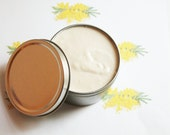 Mimosa Whipped Body Butter - Scented Vegan Whipped Shea Butter - Natural Body Butter - Whipped Lotion - Coconut Oil