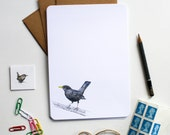 Garden Birds Letter Writing Set - Illustrated Writing Paper