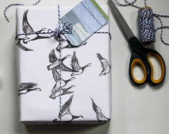 Wrapping Paper - Flying Geese
