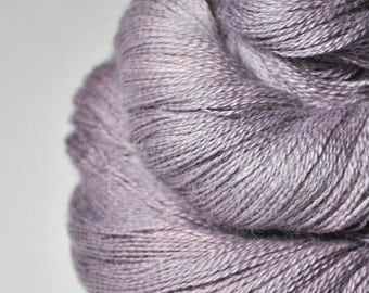 Rose which must not be named - BabyAlpaca/Silk Lace Yarn