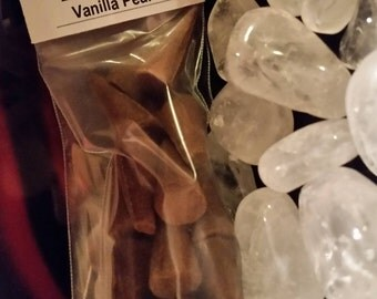 VANILLA PEAR Scent Hand Dipped Cone Incense - Sophisticated, Sweet, Feminine