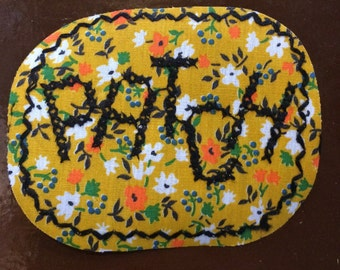 Patch  70s vintage   patch  sew-on and never used free shipping