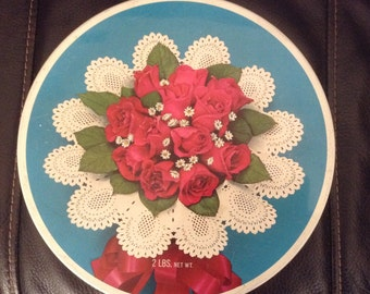 Vintage, Brach's Candy Tin, Contessa Chocolates