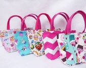 Party Pack // Kids Bag Set of 5  // Cupcake // Peppa Pig//  Chevron //  Shopkins// Party Favors
