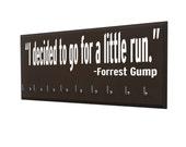 Running medal holder - Display your medals on Forrest Gump Holder