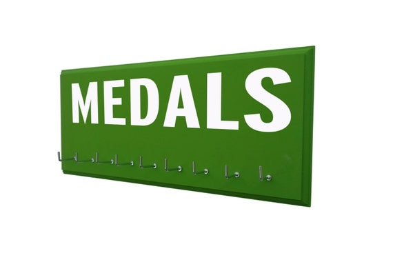 Medals Display Rack to show you're achievement, MEDALS, sport medal holder, medal hanger, sports hook, sport hooks for medals, sports hanger