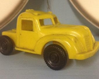 Truck,Plastic Toy Truck ~1950s~working wheels!