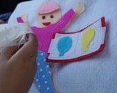 Big Brother/ Big Sister- Quiet Book Page / Soft Activity Book/ Quiet Activity Book / Birthday Gift For Toddler / Learning Book / Felt Book