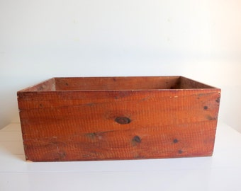 Extra Large Antique Wooden Box