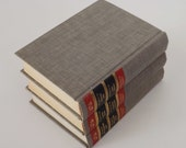 Gray Books Vintage, Table Shelf Decor, Wedding Special Event Props, Tablescape, Instant Collection