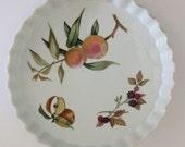 "10"" Royal Worcester of England Eversham Quiche/Pie Dish"